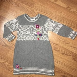 Hanna Andersson sweater dress size 100